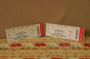 Oiler Tickets VS. Minnesota Wild Tuesday January 31, 2017 X 2