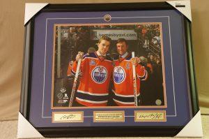 McDavid/Gretzky Rexall Farewell Game Print