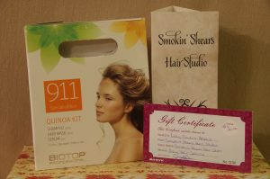 Hair Cut & Quinoa Shampoo Hair Rescue Kit