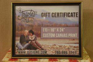 "16"" X 24"" Custom Canvas Print"