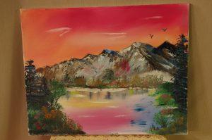 Original Art by Local Artist Bjarne Kristensen
