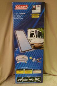 18 Watt Solar Panel & 12V Battery Charger