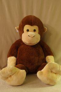 Large Plush Monkey