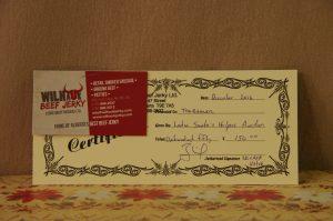 $150 Gift Certificate X 4
