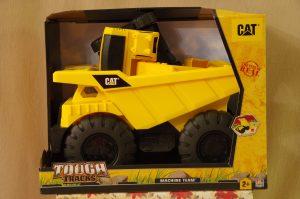 Tough Tracks Cat Dump Truck & Backhoe