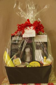 Spa Package Gift Basket