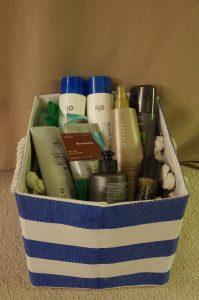 Hair Produc Gift Basket