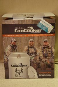 4 Gallon Cancooker - Bone Collector Edition