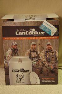 4 Gallon Cancooker - Bone Collector Edition