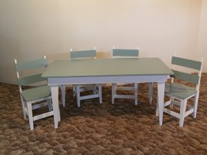 Handcrafted Children's Table & Chairs