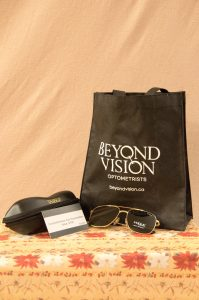 Pair of Mens Sun Glasses, Travel Case & Eye Exam