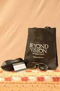Pair of Mens Sun Glasses, Travel Case & Eye Exam