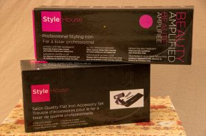 Professional Styling Iron and Accessory Set