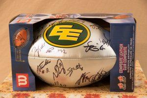 Edmonton Eskimos Signed Football