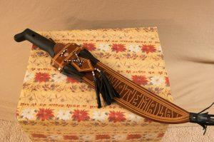 Machete with Decorative Sheath