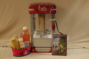Christmas Movie Package with Cinema Style Popcorn Popper
