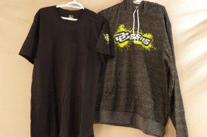 DC Signs Hoodie (XL) & DC Signs T-Shirt (L)