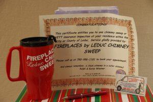 Leduc Chimney Sweep Gift Bag w/ Certificate