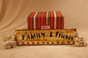 Handcrafted Family & Friends Calendar
