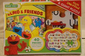 Sesame Street Giant Puzzle