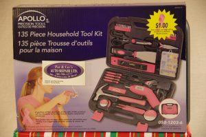 135 Piece Household Tool Kit