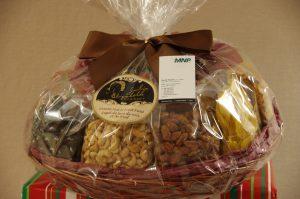 Deluxe Food & Nut Basket X 2