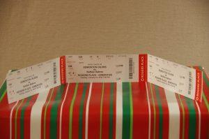 Edmonton Oiler Tickets vs. Buffalo Sabres Jan. 23/18 Sec. 109 Row 17