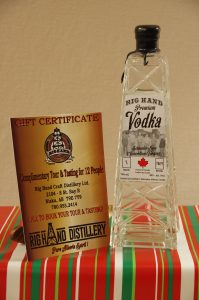 Rig Hand Premium Vodka & Complimentary Tour & Tasting for 12