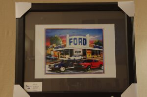 Ford Mustang Print