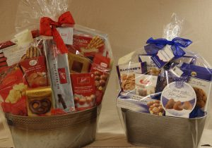 Cookie & Snack Baskets On Choice
