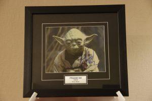 Yoda Print Signed by Frank Oz