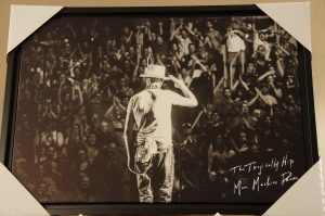 Gord Downie The Tragically Hip Man Machine Poem Farewell Print