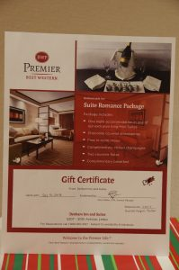Suite Romance Package (One Night King Mini-Suite)