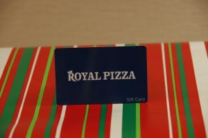 $100 Royal Pizza Gift Card