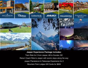 Jasper Train and Planetarium Experience Package
